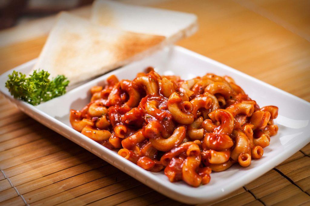 spicy red sauce pasta recipe
