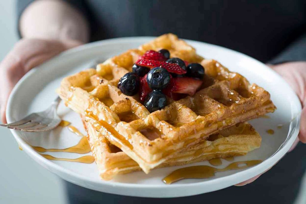 Nutrition Facts Of Belgian Waffle
