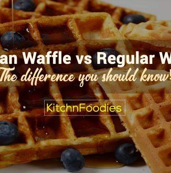 belgian waffle vs regular waffle