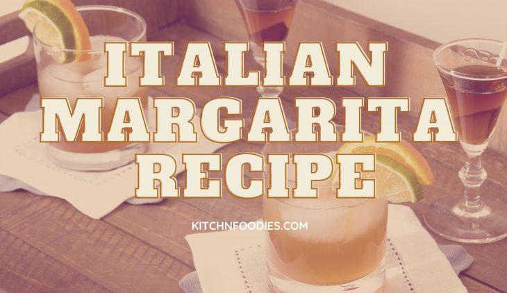 italian margarita recipe